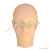 Mannequin Head-Closed Eye