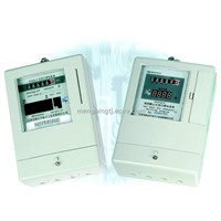 Single Phase Static Prepayment Ammeter