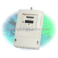 Three Phase Static Prepayment Power Meter