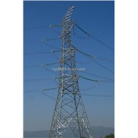 Transmission power angle tower