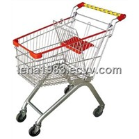 OEM, ODM Shopping Cart, supermarket cart trolleys(HB03)