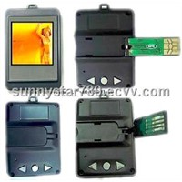 1.5inch with USB Flash Photo Frame