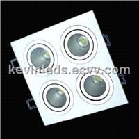4x 5 w High Power LED Grid Lighting