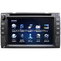 6.2-Inch 2-DIN Car DVD with GPS & TV Function