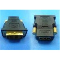 DVI 18+1P Male To HDMI 19P Female