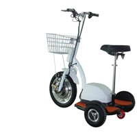 EEC/DOT 3-Wheels 350W Electric Scooter