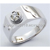 G750 Diamond Ladies Ring