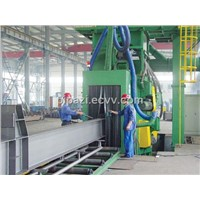 H-Beam Steel Plate Shot Blasting Machine
