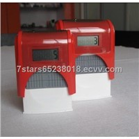 Lcd Double Ink Boxes Stamp507