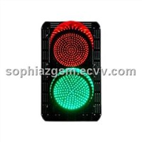 LED Traffic Light - Red Green-Round