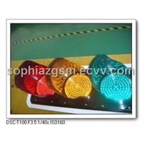 LED Traffic Signal Light Semaforos Trafficlights Policarbonato