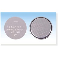 Lithium Button Cell (CR2477 CR3032)