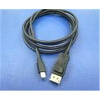 Mini DisplayPort 20P Male To Mini DisplayPort 20P Male Cable