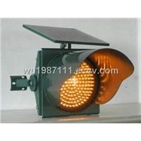 Solar LED traffic lights