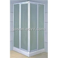 acrylic panel door shower room shower screen