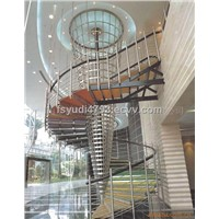 offer wood stairs,steel-wood staircase from China