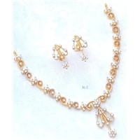 24k Gold Plated CZ Diamonds Jewellery