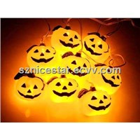 USB 7 Color Pumpkin Cluster Chain