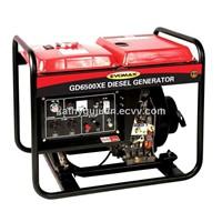 Air-cooled genset GD6500X
