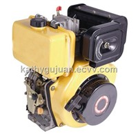 10HP Single Cylinder Air Cooled Diesel Engine