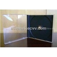 10.4mm Single CD Jewel Case with Black Tray