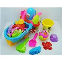 12PCS Beach toys Penguin+ Go-Cart (HG-277)