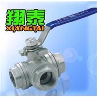 3 Way Thread Ball Valve