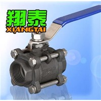 3pc Ball Valve with Thread (WCB)