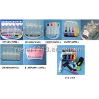 Continuous Ink Supply System   for Canon ,Epson ,HP,Lexmark inkjet cartridge