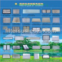 Filter for Excavator Air-Condition Series 2