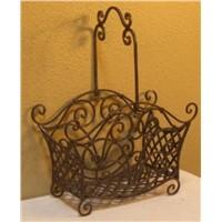 Iron Indoor Basket