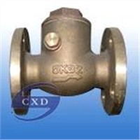 JIS-marine- bronze swing check valve