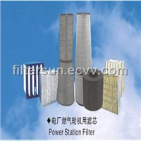 Power Station Gas Turbine Filter