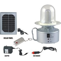 Solar 36led camping lantern with car charger(LSL-802-36LED)