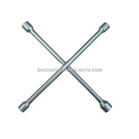 cross rim wrench (chrome-znic)