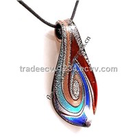 Murano Glass Pendant for Necklace