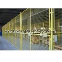 Workshop Isolation Wire Fencing