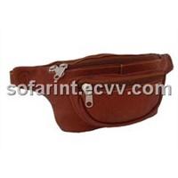 Leather Waist Bag & Pouch Bag