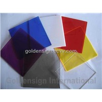 Goldensign Acrylic Color Sheet