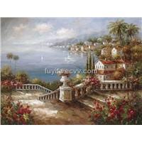 mediterranean sea Oil Painting,