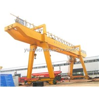 A Model Double Beam Gantry Crane