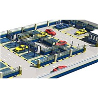 Car Workshop Layout, Car Workshop Design