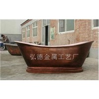 Copper Bathtub (1753-H2)
