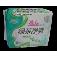 Green Tea Extract Sanitary Napkin