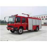 Isuzu 4*2 Foam Fire Truck (5000 Lwater,1000 Lfoam)