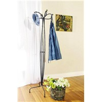 Metal coatrack