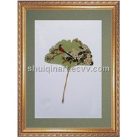 Painting on Leaves (AN-005)
