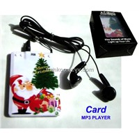 Portable Card MP3 Player,New Gift Music Player