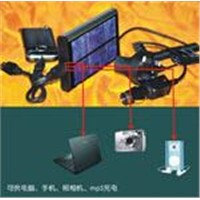 Portable Multi-Function Solar Charger