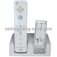 Rechargerable Battery&Charger Stand for Wii